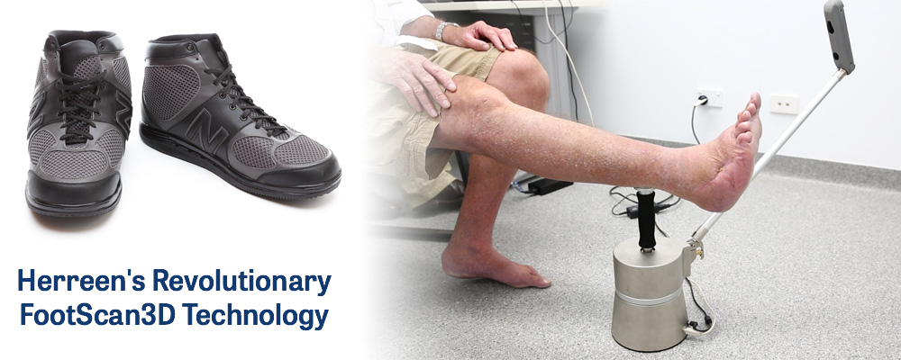 Herreen's Revolutionary FootScan3D Technology